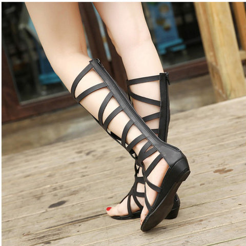 Women's Gladiator Sandals Wedge Heel Dress Shoes for Summer 2903