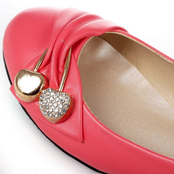 Casual Rhinestone Women Flat Shoes 9797