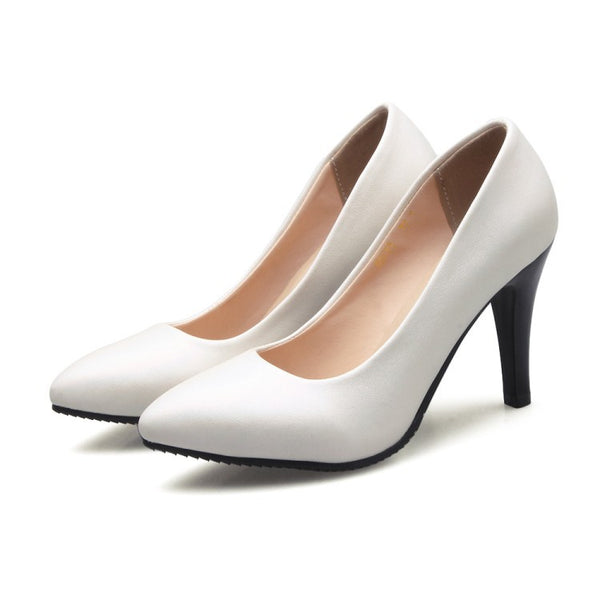 Pointed Toe Pumps Women High Heels Dress Shoes 3057