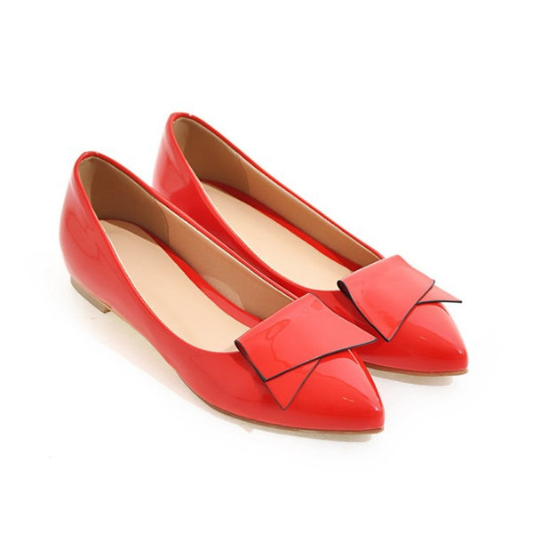 Pointed Toe Flower Women Flat Shoes 2365