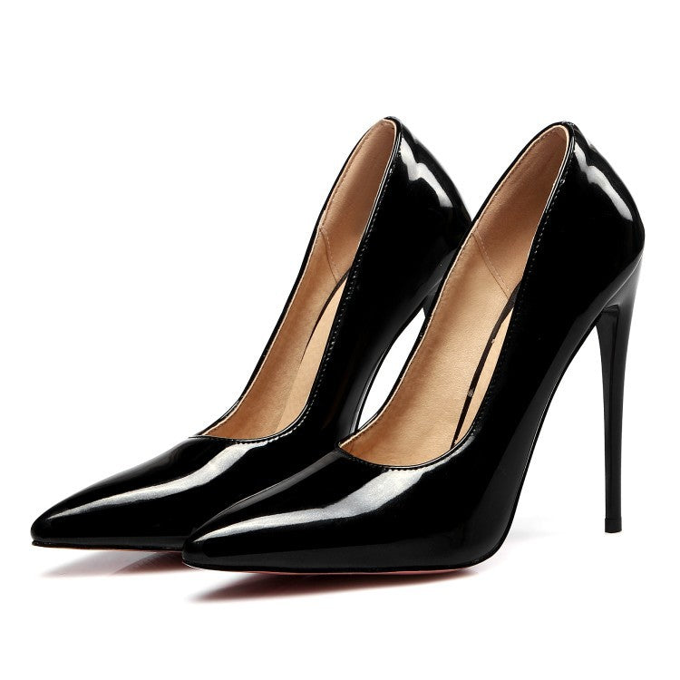 0bd603288c9 Pointed Toe Pumps Women Extreme Stiletto High Heels Shoes 3041 – meetfun