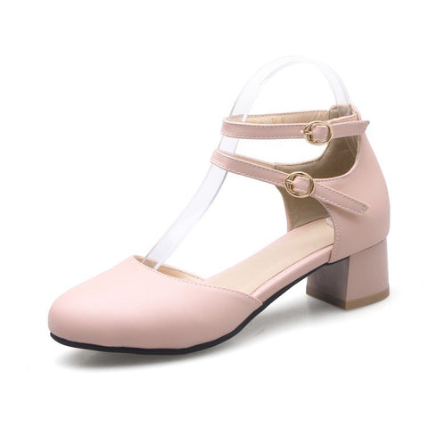 Women's Duo Straps Sandals Dress Shoes for Summer 4969
