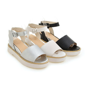Women Platform Sandals Wedge Heels Shoes for Summer 8931