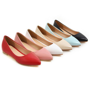 Pointed Toe Women Flat Shoes 5275