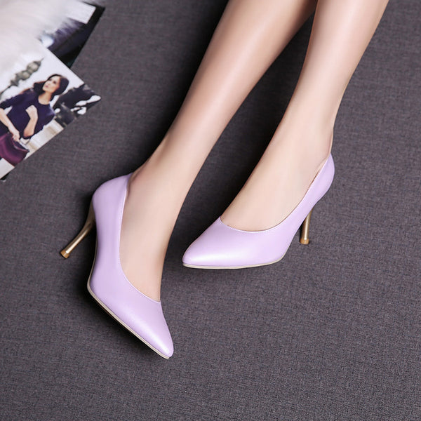 Pointed Toe Pumps Women Stiletto High Heels Shoes 3447