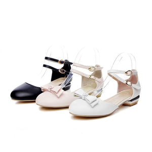 Summer Duo Straps Knot Sandals for Women Shoes MF1809