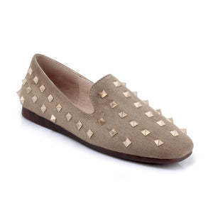 Rivets Slip On Women Flats Shoes MF1710