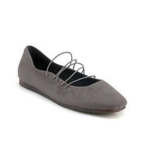 Faux Suede Women Flats Shoes MF1973