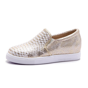 Round Toe Platform Flat Shoes for Women MF9447