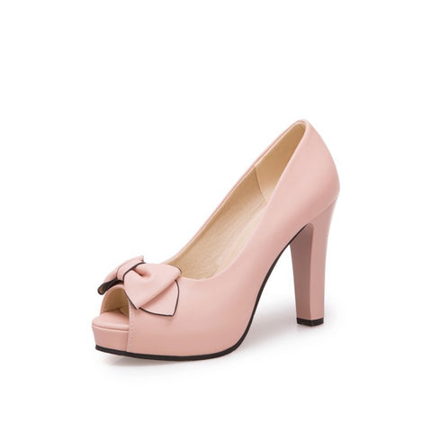 Peep Toe Platform Pumps Women Heels Sandals Shoes MF7851