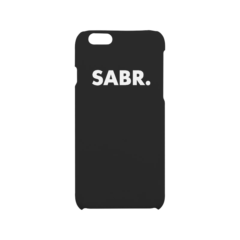 SABR. iPhone 6/6S Hard Case Phone Case