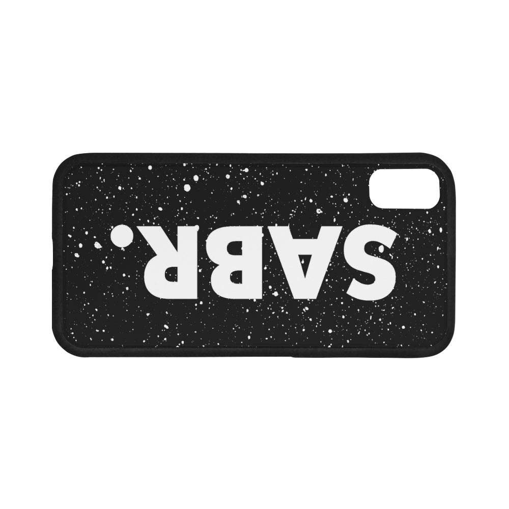 Splatter SABR. iPhone X Phone Case