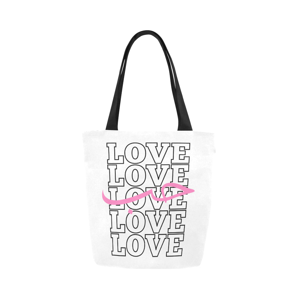 Arabic Love Canvas Tote Bag - World Wide Dawah