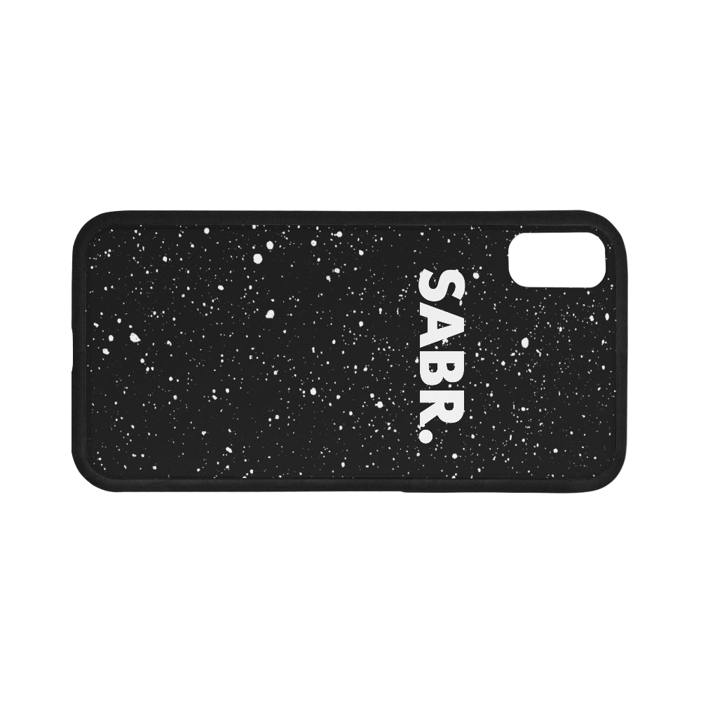 Splatter SABR. iPhone X Phone Case - World Wide Dawah