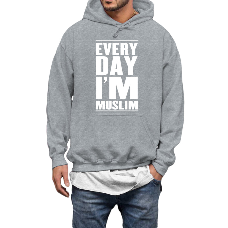 Everyday I Am Muslim Hoodie