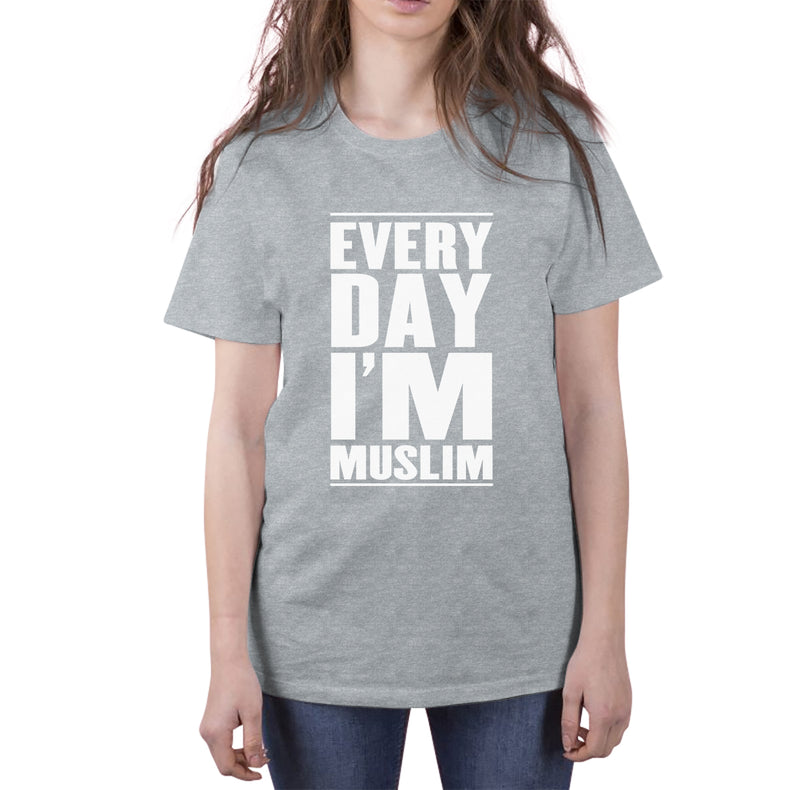 Everyday I'm Muslim Short-Sleeve T-Shirt - World Wide Dawah
