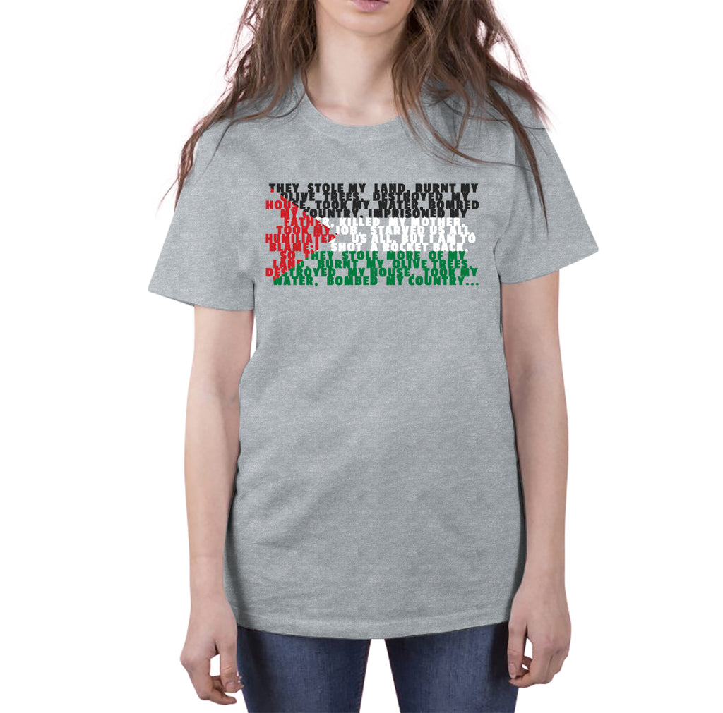 Palestine Flag Short-Sleeve T-Shirt - World Wide Dawah