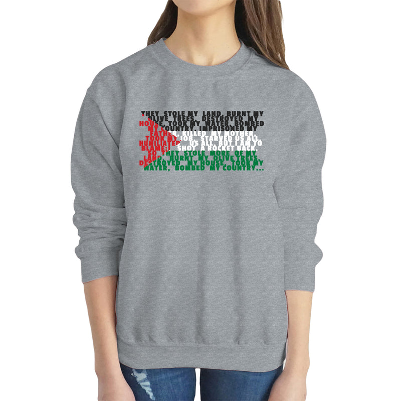 Palestine Flag Sweatshirt - World Wide Dawah