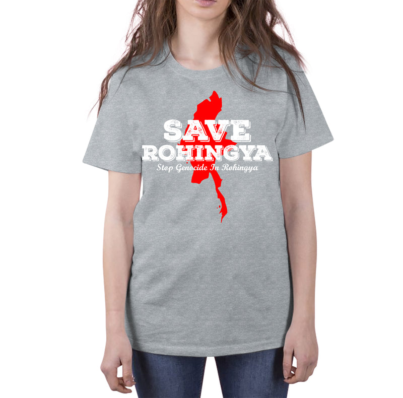 SAVE ROHINGYA Short-Sleeve T-Shirt - World Wide Dawah