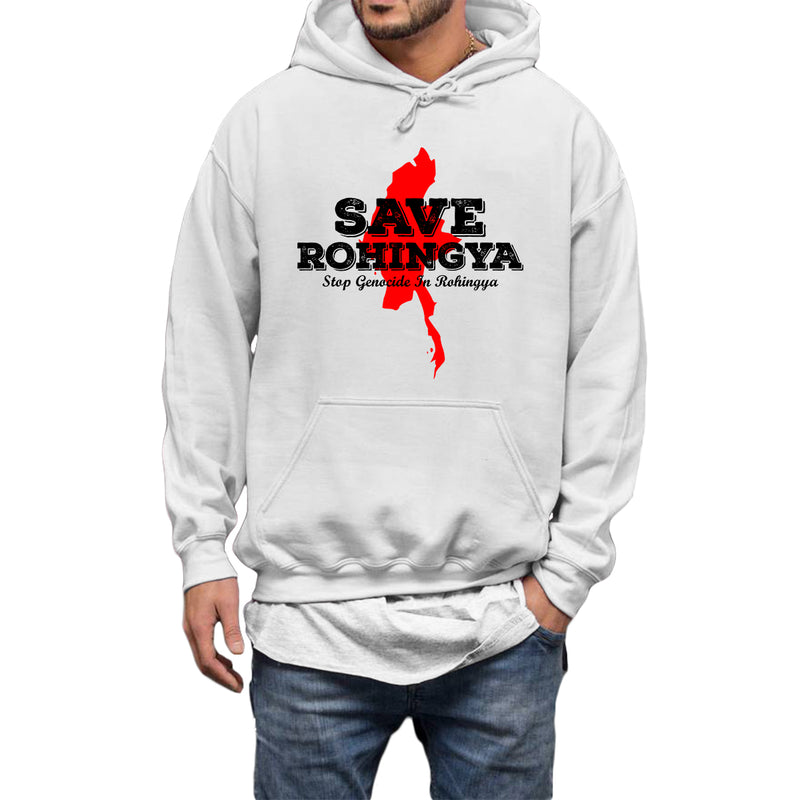 SAVE ROHINGYA Hoodie - World Wide Dawah