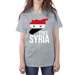 FREE SYRIA Short-Sleeve T-Shirt - World Wide Dawah
