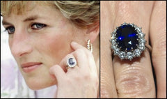 Princess Diana's Oval Sapphire Ring