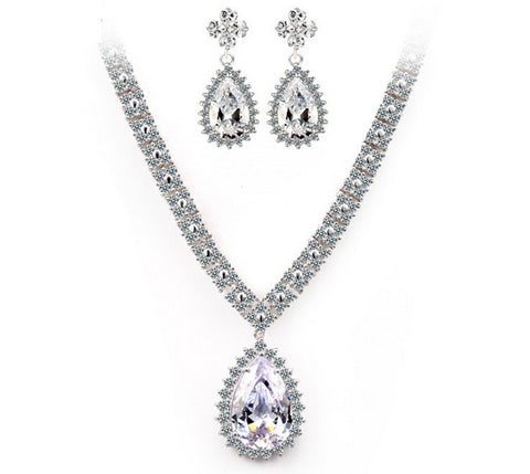 (Pre-Order) Love in Prague Luxury Jewelry Set / Bridal Set - VivereRosse