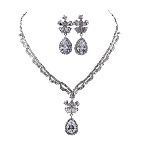 Bridal Jewelry Set Fashionable - Paris Spring Luxury - Vivere Rosse