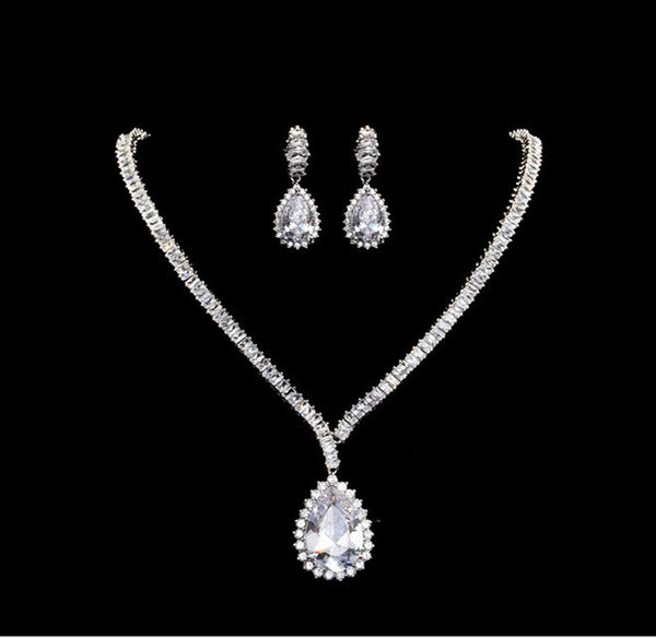Bridal Jewelry Set Affordable Price - Ocean Heart Luxury Vivere Rosse
