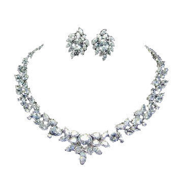 Bridal Jewelry Set For Sale - Best Deals - Encordia Luxury Set - Vivere Rosse