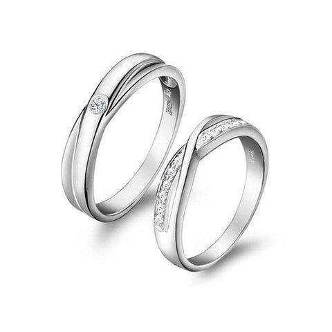 Elegant Couple Rings