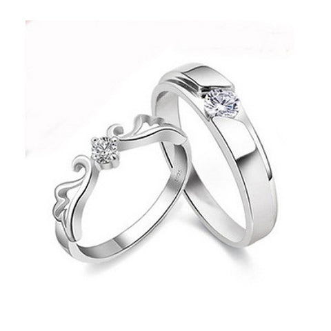 Tiara of Dreams Couple Rings
