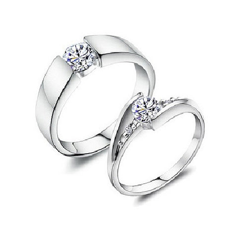 Destinee Couple Rings - VivereRosse