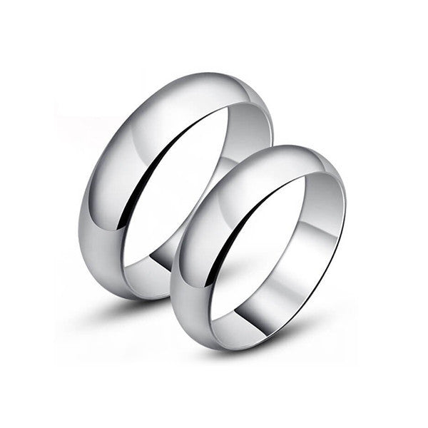 Simple Love Couple Rings