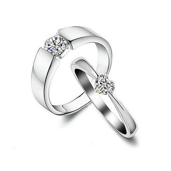 Love Story Couple Rings