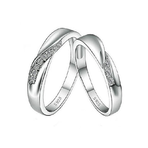 Journey of Love Couple Rings
