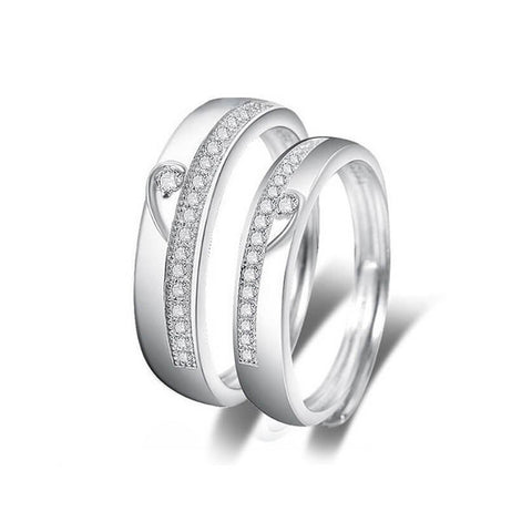 Dolce Cuore Couple Rings