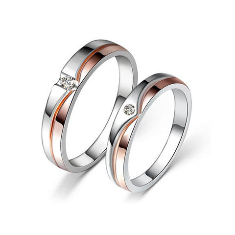 Love Me Tender Couple Rings