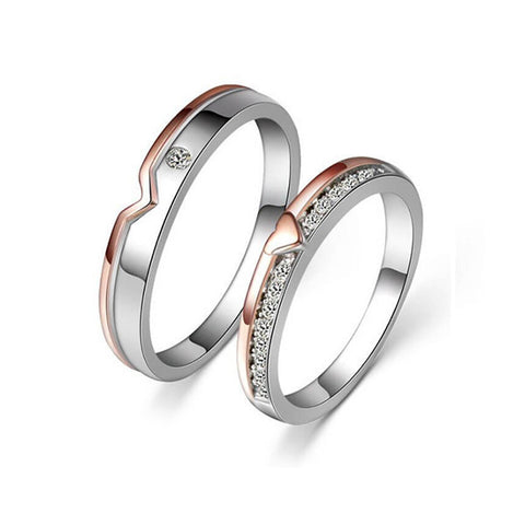 Inseparable Couple Rings