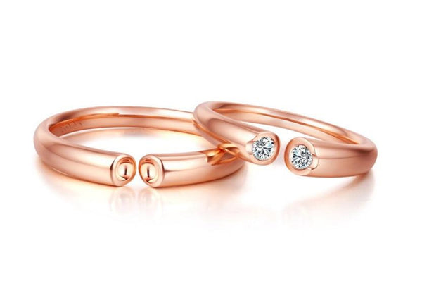 Love No Limits Couple Rings