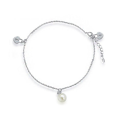 Heart Locker Anklet