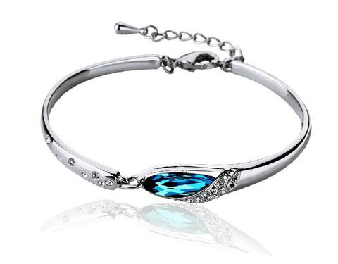 Cinderella's Tear Bangle - VivereRosse