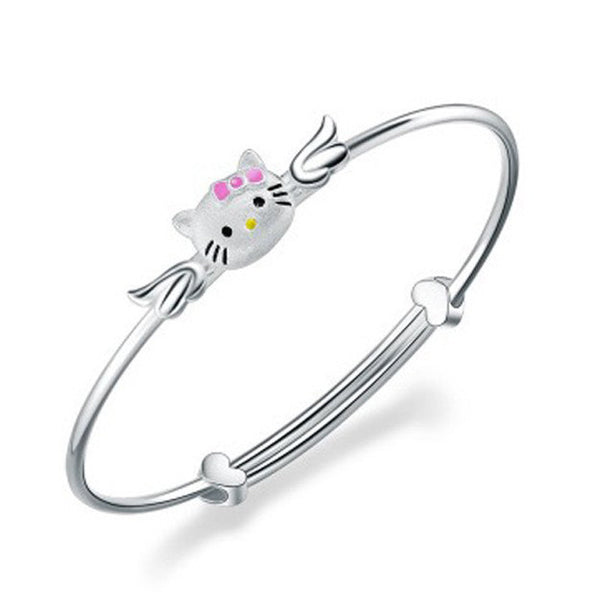 Bangles And Bracelets For Sale (Trendy) - Angel Kitty - Vivere Rosse