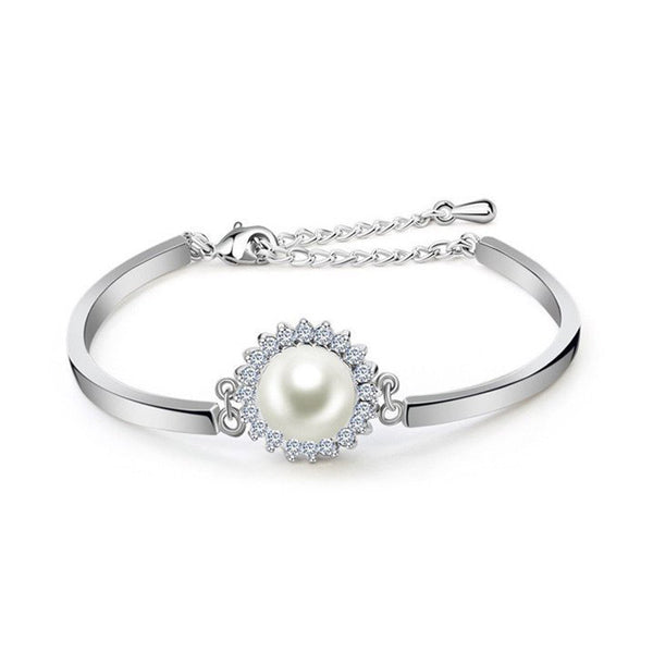 Enlace Pearl Bangle