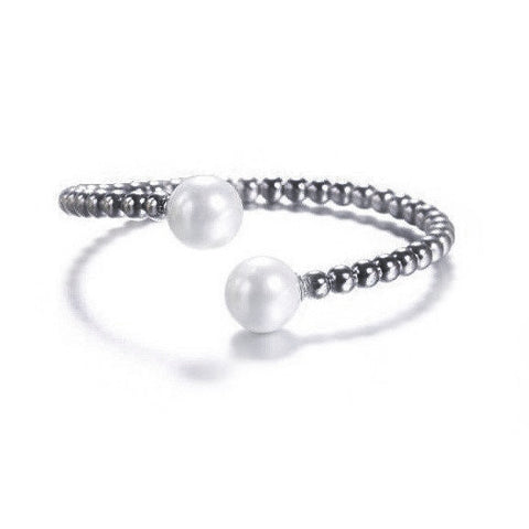 Pearl Frost Bangle
