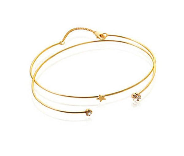 Starlight Bangle - Gold