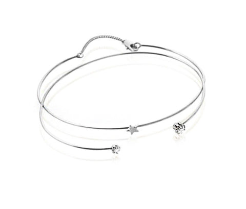 Starlight Bangle - Silver