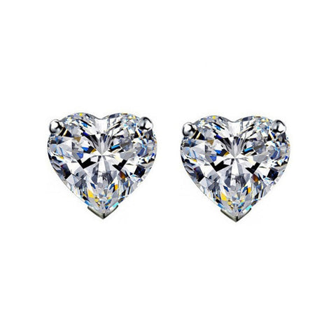 My Heart Stud Earrings