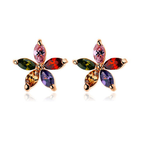 Summer Flowers Stud Earrings