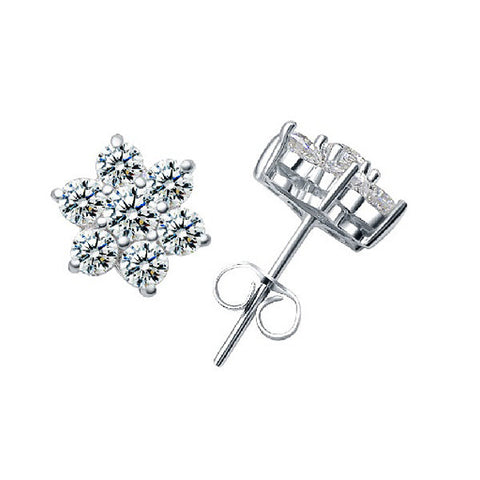 Let it Snow Stud Earrings - VivereRosse